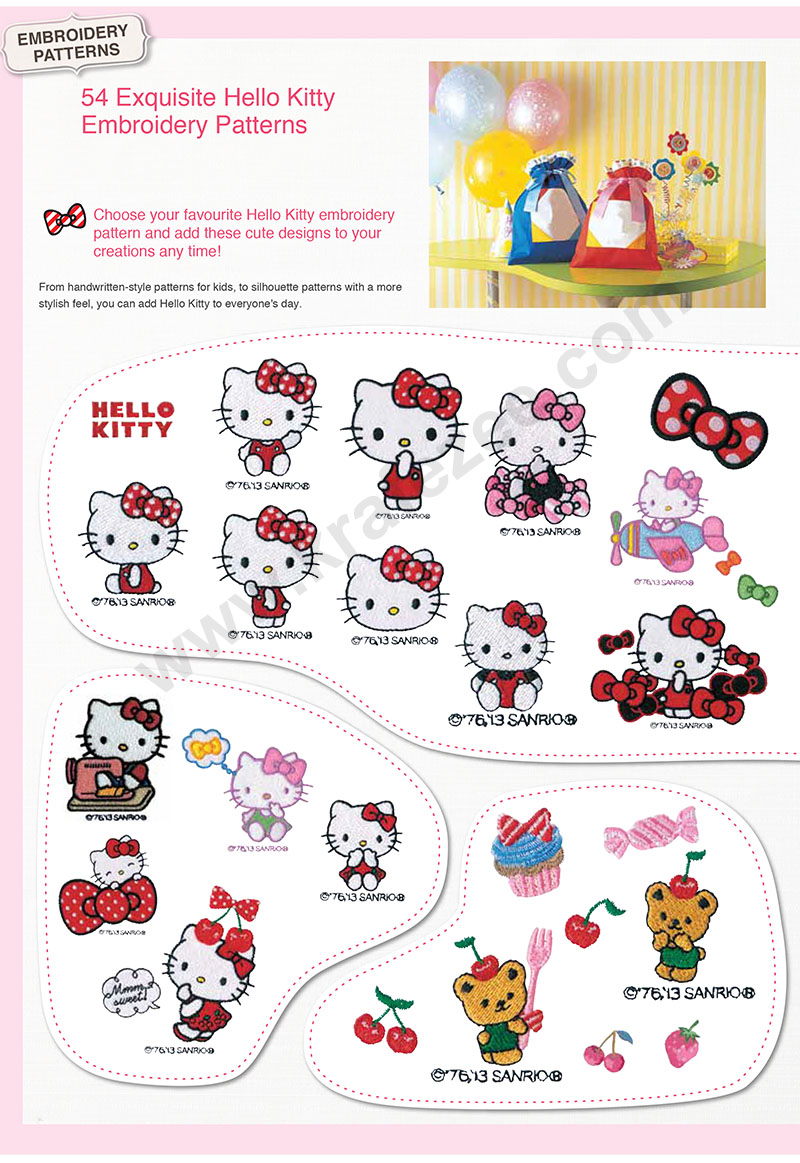 BROTHER HELLO KITTY EMBROIDERY MACHINE MALAYSIA