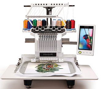 Semi Industrial Embroidery Machine